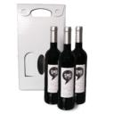 bolsa para tres garrafas de vinho 1