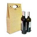 bolsa para tres garrafas de vinho com botao 1